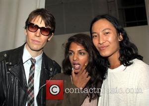 Ryan McGinley, M.I.A and Alexander Wang Mercedes-Benz IMG New York Fashion Week Spring/Summer 2011 - Alexander Wang - Backstage New...