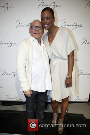 Max Azria and Aisha Tyler