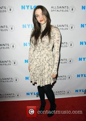 Kat Dennings Nylon Guys magazine & Allsaints Launch the Winter Issue at The Roosevelt Hotel Hollywood, California - 09.12.09