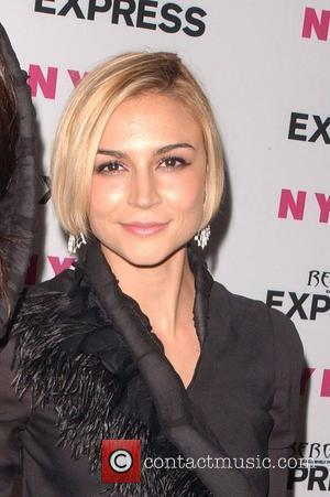 Samaire Armstrong Nylon + Express August Denim Issue Party held at The London Hotel - Arrivals West Hollywood, California -...