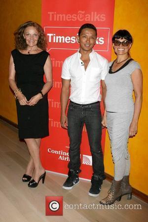 Diane Von Furstenberg, Prabal Gurung and Norma Kamali