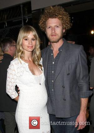 Cameron Richardson and her fiancee Ben Shulman Odd Molly flagship store opening held at the Odd Molly boutique in Beverly...