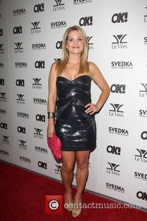 Candace Cameron Bure USA OK! magazine's 5th anniversary party, five of five parties, held at La Vida Los Angeles, California...
