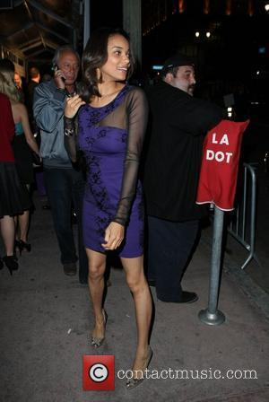 Rochelle Aytes The OK! Magazine 2010 Pre-Oscar Cocktail Party at Beso - Outside Arrivals Los Angeles, California - 05.03.10