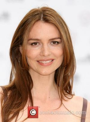 Saffron Burrows Summer fundraising party for The Old Vic Theatre at Battersea Power Station London, England - 01.07.10
