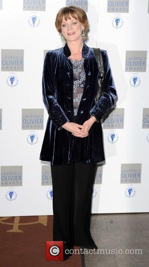 Samantha Bond and Laurence Olivier
