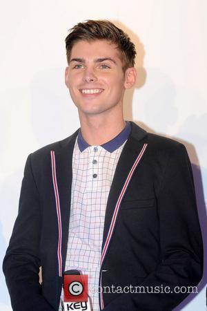 Hollyoaks actor Kieron Richardson Switching on of the Christmas lights at the Trafford Centre in Manchester Manchester, England - 28.10.10