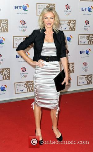 Nell McAndrew British Olympic Ball held at the Grosvenor House Hotel London, England - 24.09.10