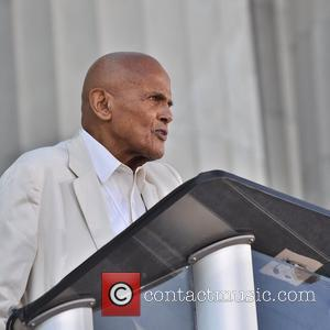 Harry Belafonte attends the One Nation Rally at the Lincoln Memorial Washington DC, USA - 02.10.10