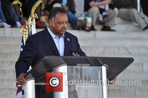 Jesse Jackson attends the One Nation Rally at the Lincoln Memorial Washington DC, USA - 02.10.10