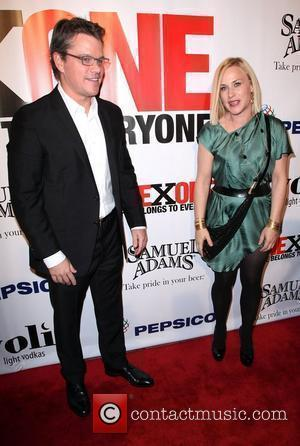 Matt Damon and Patricia Arquette