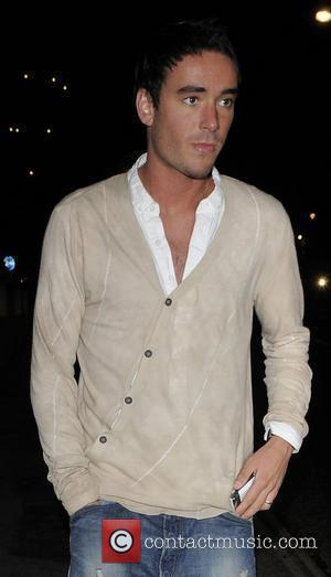 The Only Way Is Essex star Jack Tweed joining the rest of the cast and production staff at Nobu Restaurant...