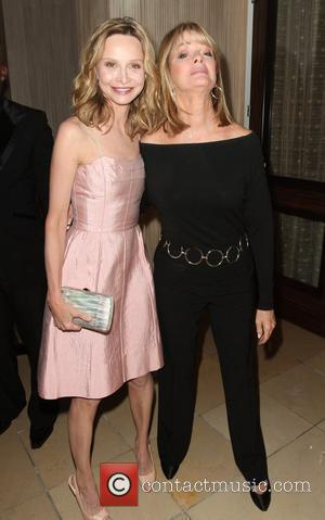 Calista Flockhart and Deidre Hall