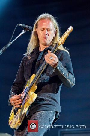 Jerry Cantrell of Alice in Chains Optimus Alive! 2010 at Passeio Maritimo de Alges - Day 1 Lisborn, Portugal -...