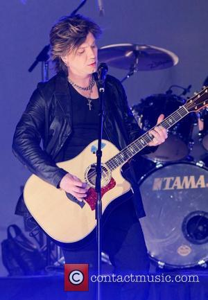 The Goo Goo Dolls  perform the halftime show during the 2011 Discover Orange Bowl game, Stanford Cardinal vs. Virginia...
