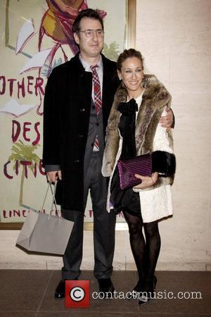 Jon Robin Baitz and Sarah Jessica Parker