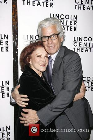 Linda Lavin and her husband Steve Bakunas  Opening night after party for the Lincoln Center production of 'Other Desert...