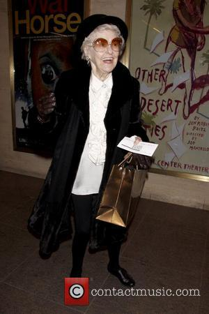 Elaine Stritch Opening night of the Lincoln Center production of 'Other Desert Cities by Jon Robin Baitz' at the Mitzi...