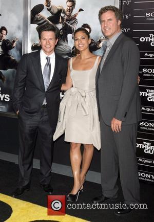 Mark Wahlberg and Eva Mendes