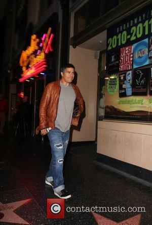 Esai Morales Outside the Sheryl Crow Breast Cancer Awareness benefit concert at the Pantages Theatre  Hollywood California - 16.11.10