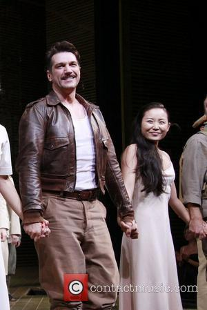 Paulo Szot and Li Jun Li  Closing night of the Lincoln Center Theater production of 'South Pacific' at the...