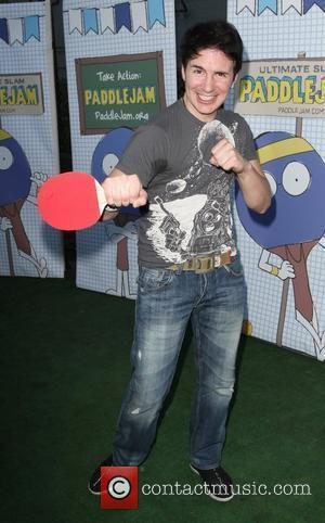 Hal Sparks  The 2010 'Ultimate Slam PaddleJam' Celebrity Ping Pong Tournament held at The Music Box Henry Fonda Theatre...