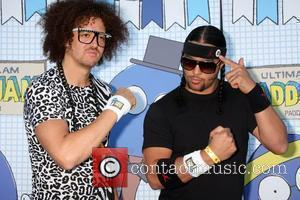 LMFAO  The 2010 'Ultimate Slam PaddleJam' Celebrity Ping Pong Tournament held at The Music Box Henry Fonda Theatre Hollywood,...