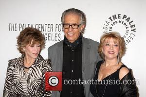 Jane Fonda, Al Michaels and Mary Hart
