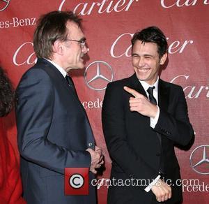 Danny Boyle and James Franco