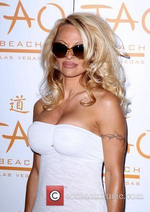 Pamela Anderson and Las Vegas
