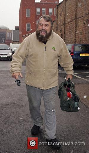 Brian Blessed arriving at the New Wimbledon Theatre to appear in 'Aladdin'  Wimbledon, England - 16.12.09