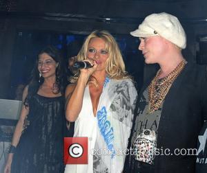 Dj Maria Laina and Pamela Anderson