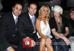 Vatche Manoukian and Pamela Anderson