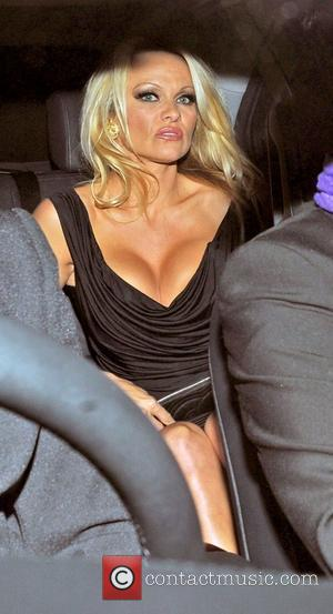 Pamela Anderson  'The Commuter' premiere, held at Aqua Restaurant - Departures. London, England - 25.10.10