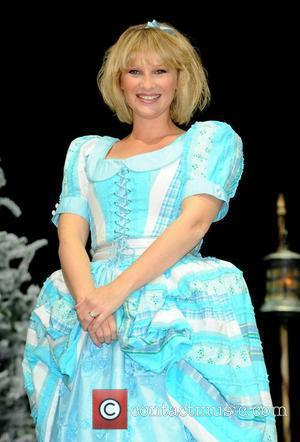 Joanna Page Attends the First Family Entertainment Pantomime photocall at the Piccadilly Theatre  London, England - 26.11.10