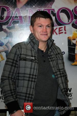 Ricky Hatton 'Pantos on Strike' at the Opera House Manchester - Arrivals Manchester, England - 16.11.10
