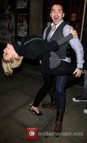 Louie Spence and Suzanne Shaw