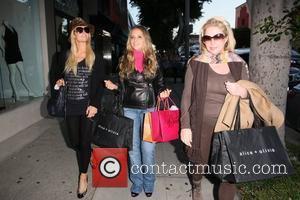 Paris Hilton, Brooke Mueller and Kathy Hilton
