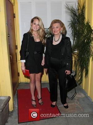 Barbara Davis and Paris Hilton