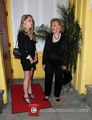 Barbara Davis leaving Dan Tana's restaurant with her grandaughter after celebrating Paris Hilton's birthday Los Angeles, California - 17.02.10