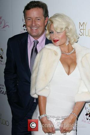 Piers Morgan and Paris Hilton Paris Hilton launches her new frangrance 'Tease' at 'MyStudio nightclub' in Hollywood Los Angeles, California...
