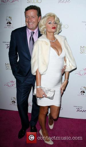 Piers Morgan and Paris Hilton Paris Hilton launches her new frangrance 'Tease' at 'MyStudio nightclub' in Hollywood Los Angeles, California...