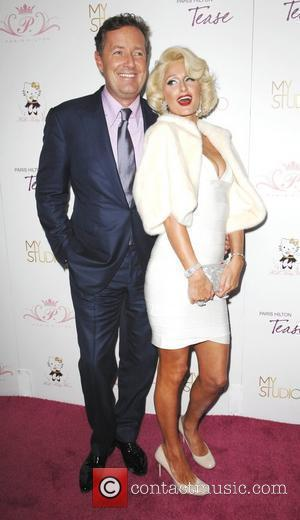 Piers Morgan and Paris Hilton launches her new frangrance 'Tease' at 'MyStudio nightclub' in Hollywood Los Angeles, California - 10.08.10