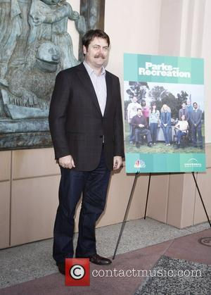 Nick Offerman 'Parks And Recreation' screening at Leonard H. Goldenson Theatre in North Hollywood - Arrivals Los Angeles, California -...