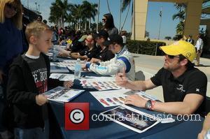 Patrick Dempsey prior to the Miami Grand Prix on March 6th, 2010  Homestead, Florida -06.03.10