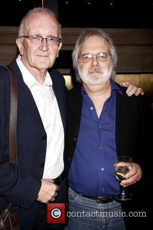 John Doyle and John Weidman Book Party for 'Patti LuPone: A Memoir' held at the Vivian Beaumont Theater Lobby New...