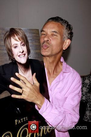 Brian Stokes Mitchell Book Party for 'Patti LuPone: A Memoir' held at the Vivian Beaumont Theater Lobby New York City,...