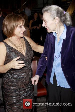 Patti LuPone and Marian Seldes Book Party for 'Patti LuPone: A Memoir' held at the Vivian Beaumont Theater Lobby New...