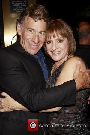 Stephen Schwartz and Patti LuPone Book Party for 'Patti LuPone: A Memoir' held at the Vivian Beaumont Theater Lobby New...