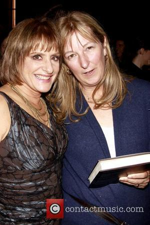Patti LuPone and Guest Book Party for 'Patti LuPone: A Memoir' held at the Vivian Beaumont Theater Lobby New York...